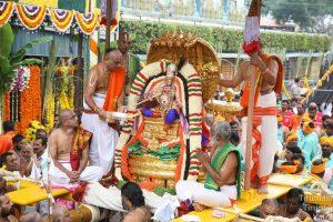 Rata Sapthami-Second Day Chinna Sesha Vahana Bramhotsavam
