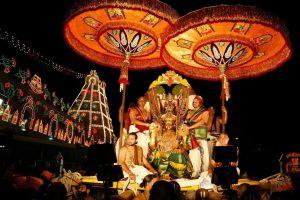 Rata Sapthami-Third Day Garuda Vahana Bramhotsavam
