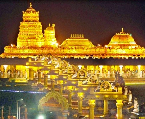 Sripuram Golden Temple-Vellore